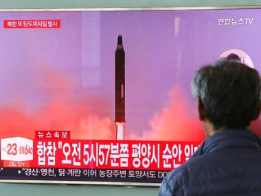 North Korea ICBM. Representational image. AP