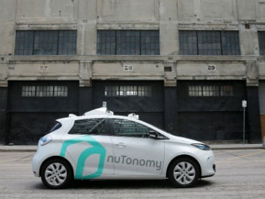 Self-driving car by Nutonomy. Reuters.