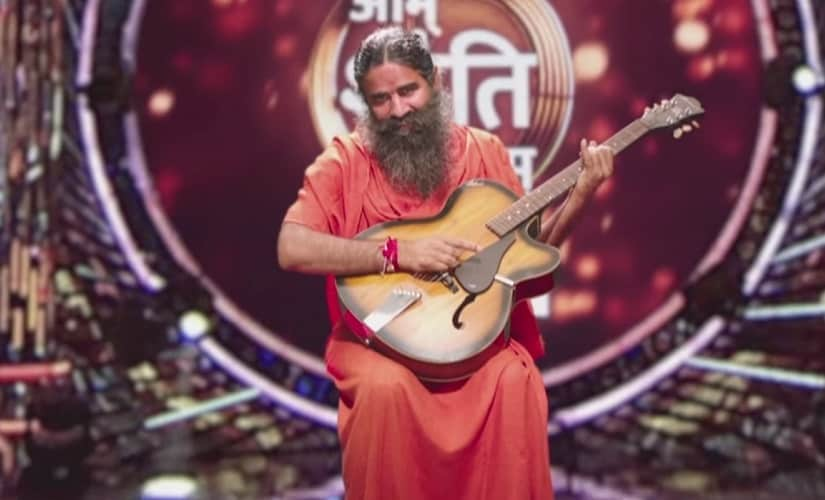 Baba Ramdev on Om Shanti Om. Youtube screengrab