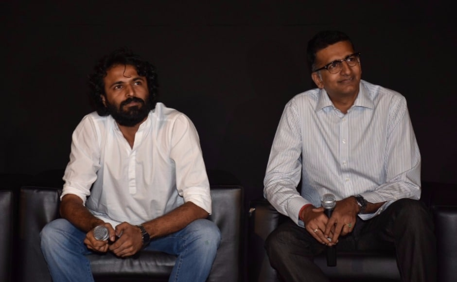 Director Advait Chandan and Sujay Kutty