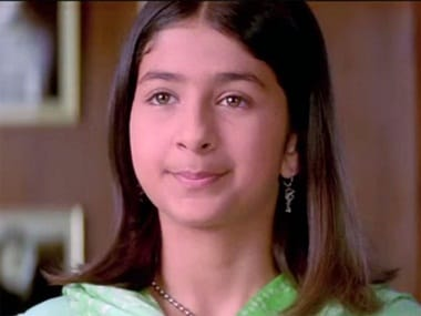 Malvika Raaj in a still from Kabhi Khushi Kabhie Gham. YouTube