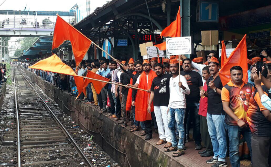 To deal with the rush, massive traffic diversions, were made. Important roads were either closed or made one-way while the Central Railway added extra trains for the day to ensure smooth movement for the procession participants. Sanjay Sawant/Firstpost