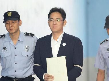 Vice Chairman of Samsung, Lee Jae-Yong. Reuters.