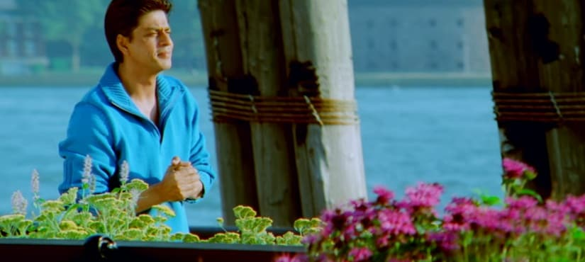 Shah Rukh Khan in a still from Kal Ho Naa Ho. YouTube