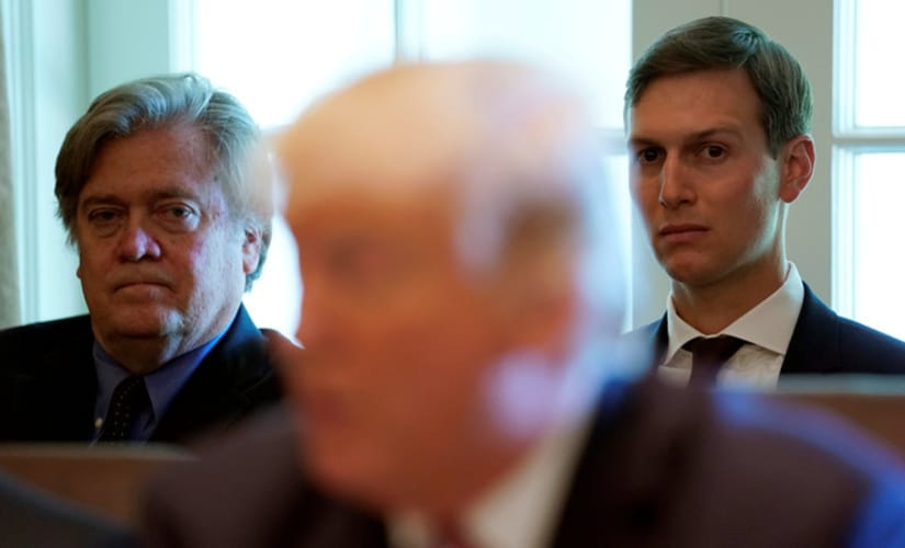 Trump's love for Bannon is well known, so is Jared and Ivanka's dislike for Bannon, Round One goes to the Family, Bannon will not go down without a fight/ Reuters
