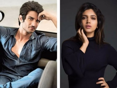 Sushant Singh Rajput and Bhumi Pednekar. Images via Facebook