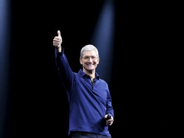 Apple CEO, Tim Cook. Reuters.
