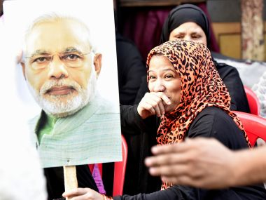 Muslim women across India celebrated after a Supreme Court bench booted out instant triple talaq in India. Getty Images
