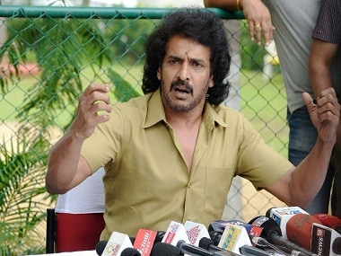 Kannada actor Upendra. Image from Twitter.