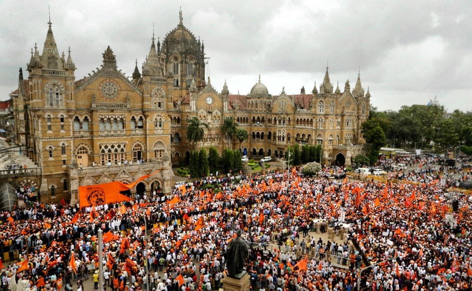 The protest which started from Byculla Zoo at 11 am and ended at Azad Maiden in the evening, saw participation of lakhs of community members and was intended as show of strength and unity. AP