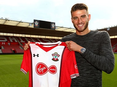 Wesley Hoedt has signed a five-year deal at Southampton. Image courtesy: southamptonfc.com
