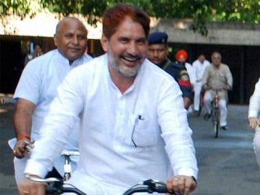 Haryana BJP president Subhash Barala. PTI file photo