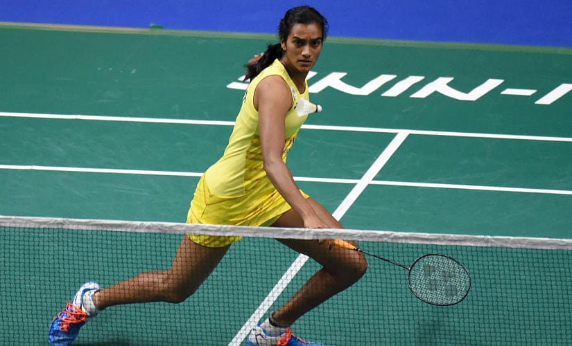 PV Sindhu's height, reach and power on both flanks proved to be hard to counter for Nitchaon Jindapol. AFP