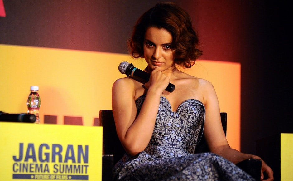 Ranaut's latest film Simran released on 15 September. She plays the role of a street-smart, independent divorcee who feels somewhat claustrophobic within the confines of her Gujarati family that lives in the US. Photo courtesy: AFP/ STR