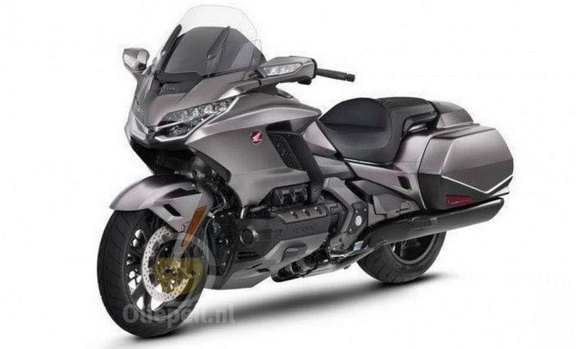 Grey variant of the 2018 Honda Goldwing. Image: Oliepeil.nl