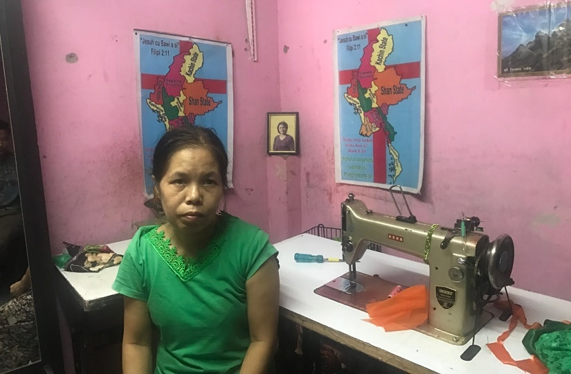 Dim Hai, a 43-year-old widow who landed in India in 2007. Firstpost/Pallavi R