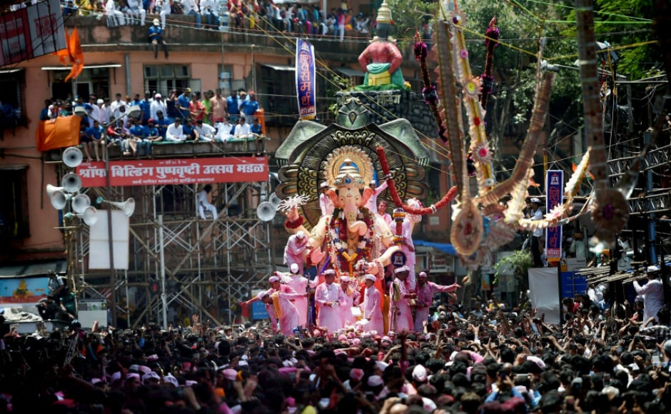 The idols were moved from their pedestals amid chanting of the <em>udvasana mantra</em> and taken out of the various marquees, societies and individual homes, in Mumbai, Thane, Pune, Kolhapur, Nagpur, Nashik, coastal Konkan districts and other towns in Maharashtra. PTI