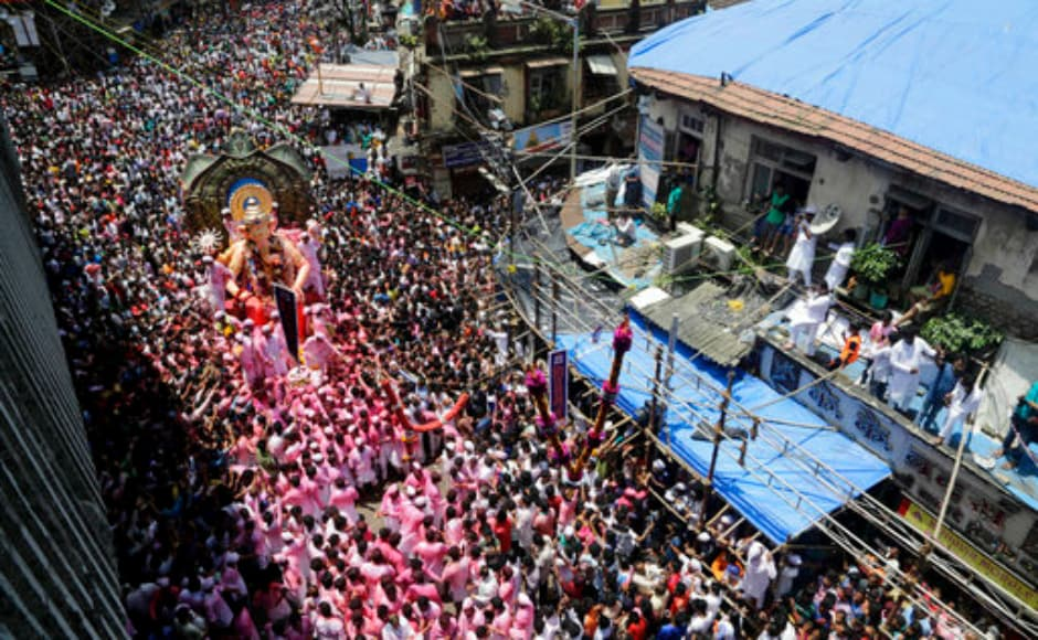 Besides Mumbai, the other major immersions have begun in the coastal district of Palghar, Thane, Raigad, Ratnagiri and Sindhudurg since daybreak, in the presence of lifeguards provided by various civic bodies and volunteers. This year, Mumbai hosted around 11,550 big Ganeshotsav celebrations with budgets running into several crores of rupees; 190,000 medium or small groups with budgets of around Rs 500,000 to Rs five million, and millions of individual households in Mumbai and rest of Maharashtra. AP