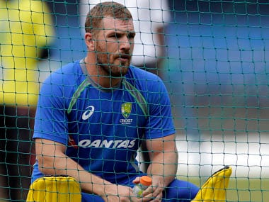 India vs Australia: Visitors sweat over Aaron Finch's availability ahead of must-win Indore ODI