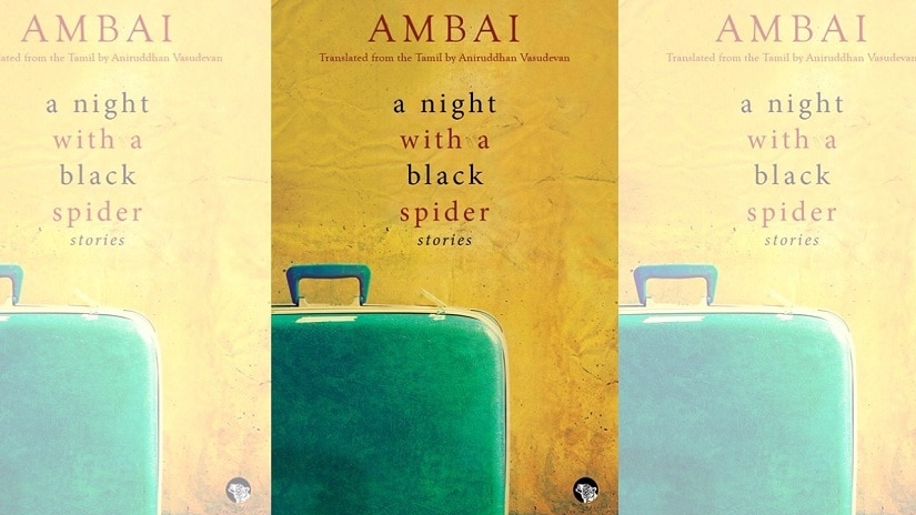 Cover for Ambai's A Night With A Black Spider