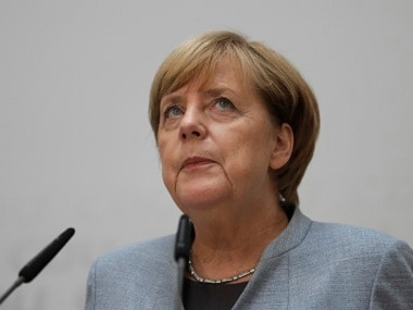 Angela Merkel won a fourth term as German Chancellor. AP