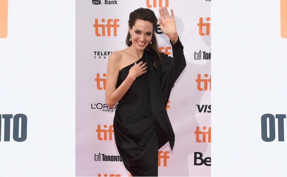 Angelina Jolie directorial venture First They Killed My Father was premiered on day 5 of the Toronto International Film Festival. Image from AP.