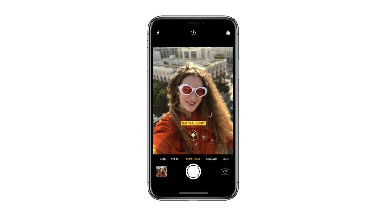 The Portrait Lighting using TrueDepth camera on the Apple iPhone X