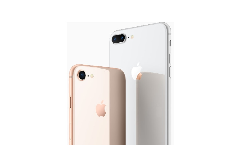 Apple announced iPhone 8 and 8 Plus along with the iPhone X at the launch event at Steve Jobs Theater in Cupertino, California. Image: Apple