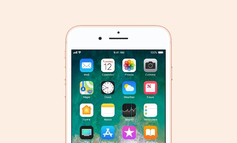 Apple iPhone 8 and 8 Plus will come with iOS 11 out of the box. Image: Apple