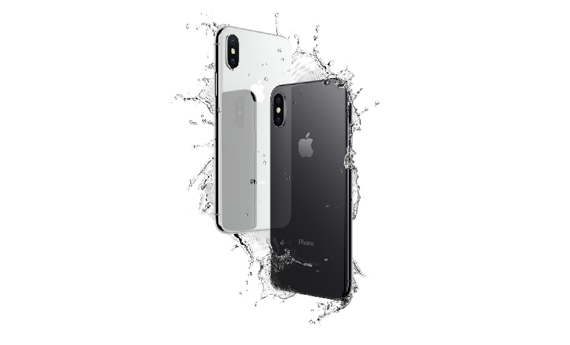 Apple has ensured that iPhone X is water and dust resistant 'to the molecular level' to ensure longevity. Image: Apple