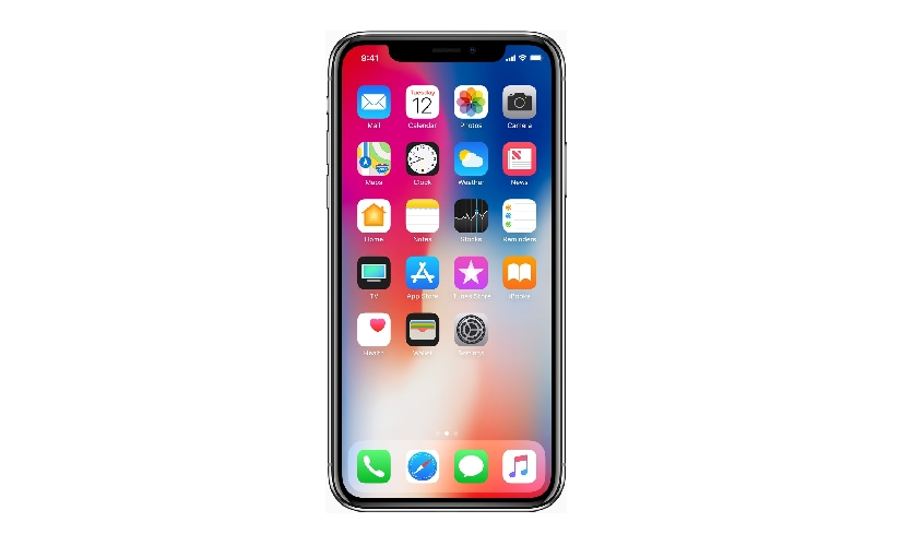 Apple announced the iPhone X to mark 10 years of iPhones. The company announced the device along with iPhone 8 and 8 Plus at the launch event at Steve Jobs Theatre in Cupertino. Image: Apple