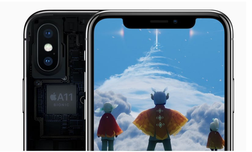 Apple iPhone X houses the A11 Bionic chipset