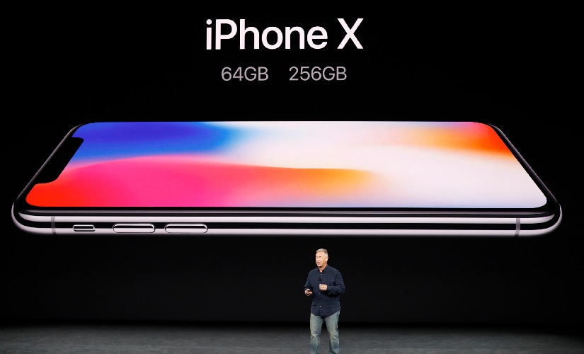 The Apple iPhone X will be available in 64 GB storage variant along with 256 GB storage variant. Image: Reuters