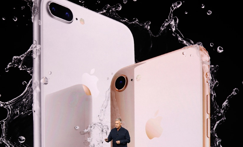 iPhone 8, 8 Plus and X will be water and dust resistant out of the box. Image: Reuters