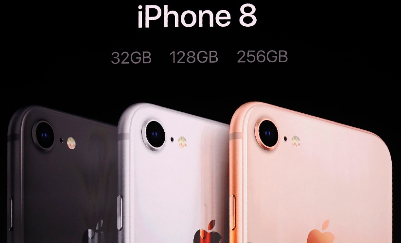 The company upgraded the lowest storage variant on the iPhone 8 / 8 Plus to 32 GB instead of 16 GB while removing the 64 GB variant. Image: Reuters