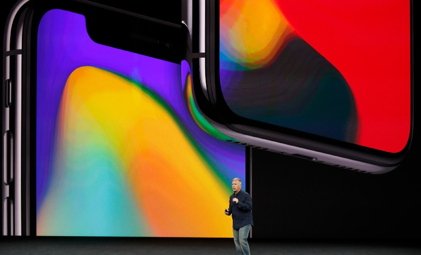 After the launch of Apple iPhone 8 and 8 Plus, Phil Schiller introduced the iPhone X. Image: Reuters