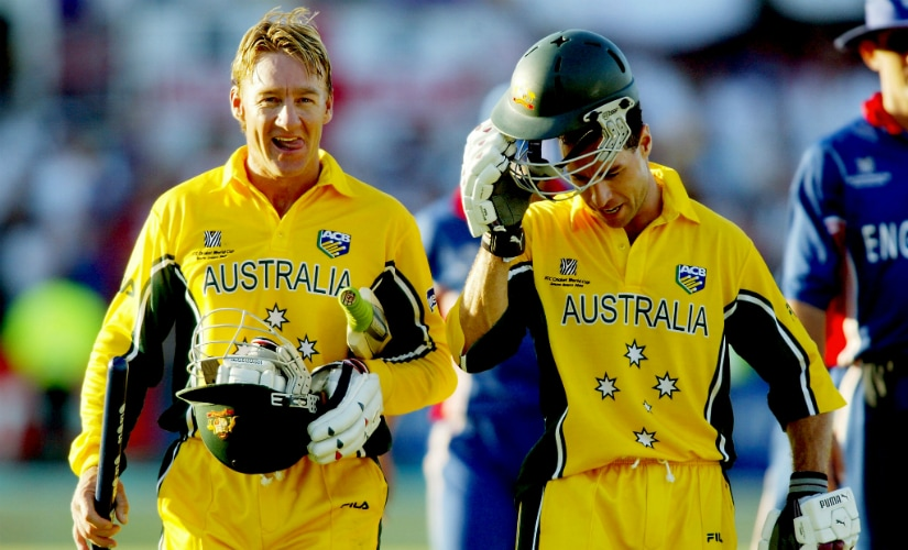 Michael Bevan, with help from Andy Bichel, helped Australia claw their way back from the jaws of defeat against England in 2003 ICC World Cup. AFP