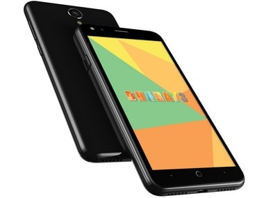 The Micromax Bharat 3 comes with a 4.5-inch 2.5D display.