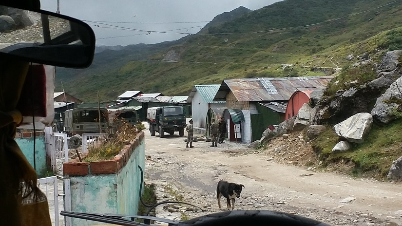 Life is returning to normalcy in border villages in Doka La. Image courtesy: Sujal Pradhan/101Reporters.com