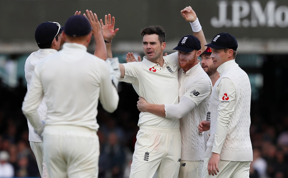 West Indies batsmen had no answers to Anderson's skill and guile as he kept making inroads in Windies' batting line-up, he went on bag his 24th 5-wicket haul equaling England's legendary Sydney Barnes. AP