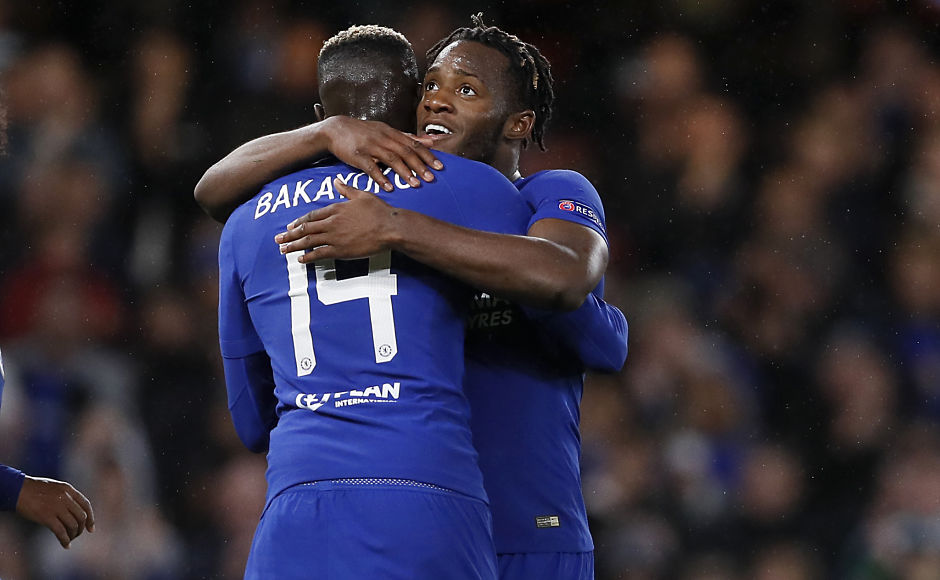 Michy Batshuayi scored twice, while Tiemoue Bakayoko scored his first goal for Chelsea. AP