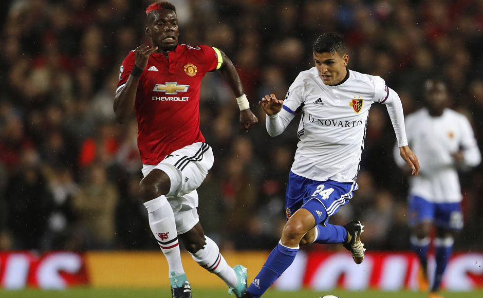 However, United lost Paul Pogba in the opening 15 minutes after the Frenchman pulled his hamstring. AP