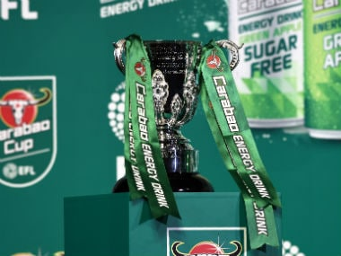 File image of Carabao Cup trophy. AFP