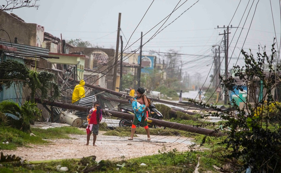 Hurricane Irma made a landfall in Cuba's Camaguey archipelago on Friday night. At least ten people have died during the three-day rampage along the island. AP