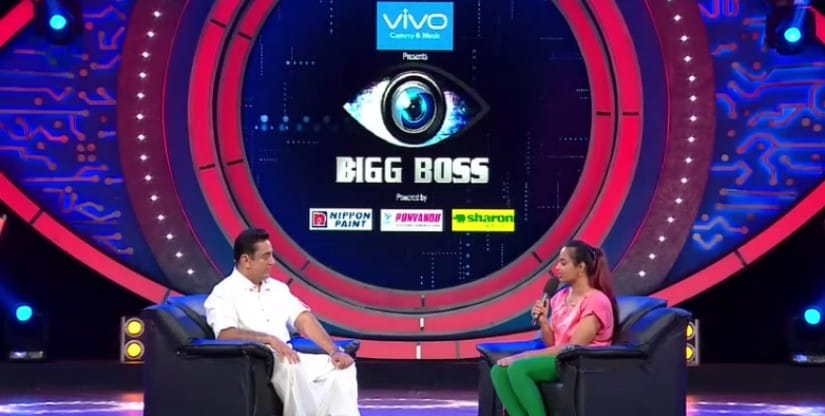 Evicted contestant Suja Varunee shares her experience of the Bigg Boss Tamil house with Kamal Haasan. Hotstar screengrab