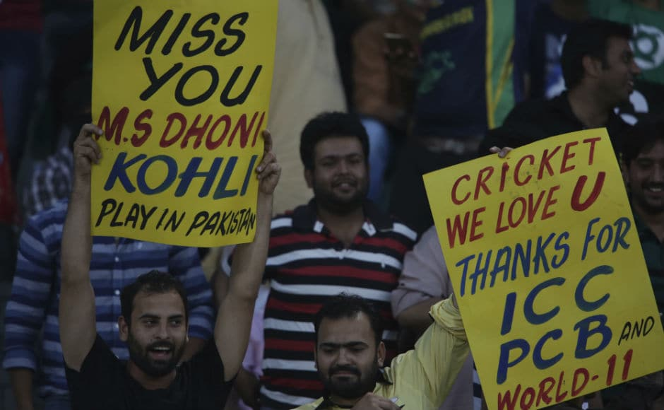 There were those who did miss the presence of Indian stars at the Gaddafi Stadium during the Pakistan-World XI match. AP