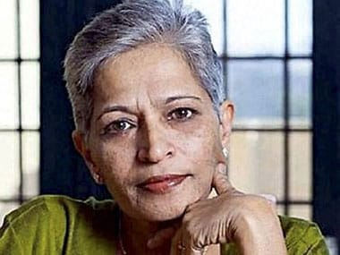 File image of Gauri Lankesh. PTI