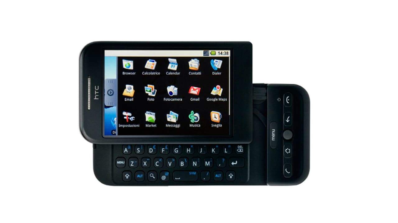 The HTC Dream was the very first commercially available Android device