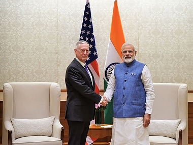 Jim Mattis' visit confirms India-US axis is now complete; complemented by rise of Russia-China-Pakistan coalition
