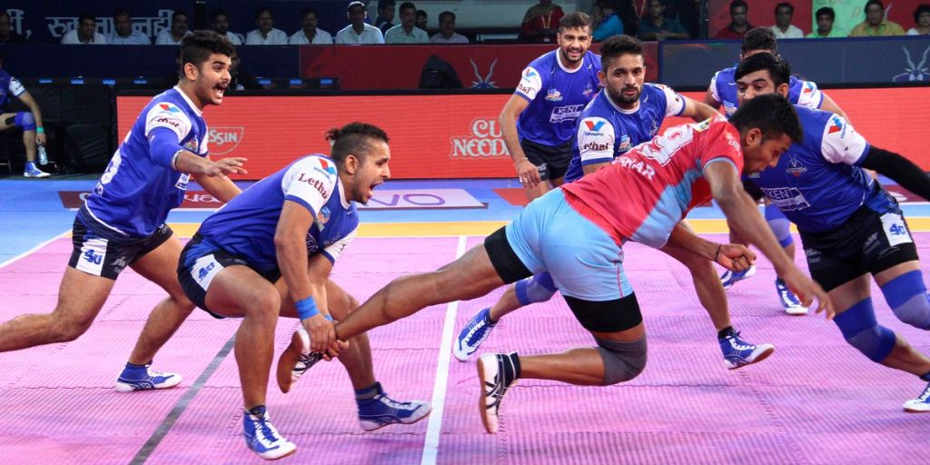 Uber Vehicle List >> Pro Kabaddi League 2017: Nitin Rawal helps Jaipur Pink Panthers eke out close draw against ...